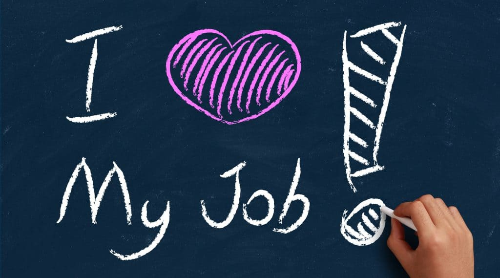 How to love your job: stop completing and start accomplishing