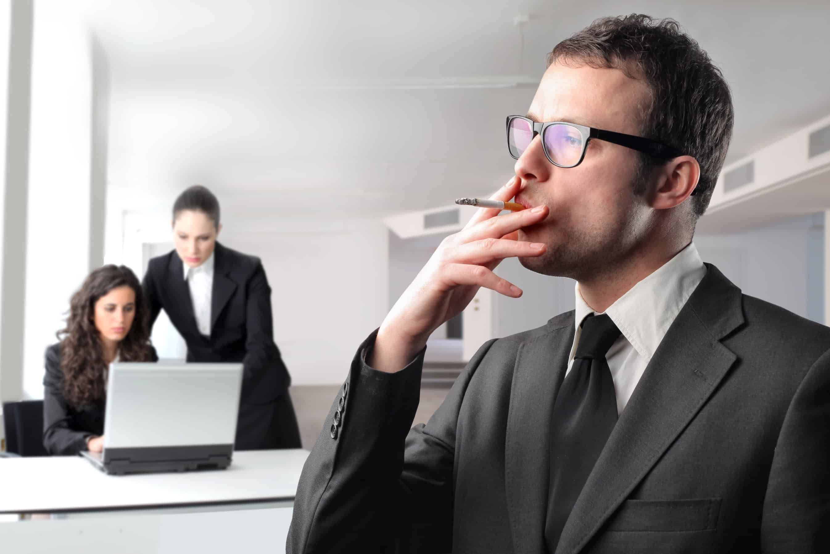 Are stressful workplaces the new smoking?